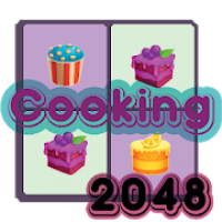 2048 cooking puzzle cupcake