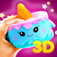 3D Squishy toys kawaii soft stress release games