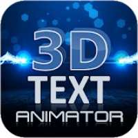 3D Text Animation - Logo Animation, 3D Intro Maker