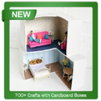 700+ Crafts with Cardboard Boxes