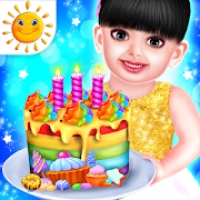Aadhya Birthday Cake Maker Cooking Game