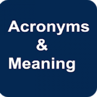 Acronyms and Meaning