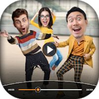 Add Face On Video - Funny Face Video Changer
