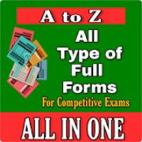 All A to Z Full Forms 2020 - New Full Forms Book