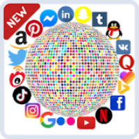 All social media and networks in one app - Social