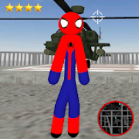 Amazing Spider-StickMan Rope Hero Gangstar Crime