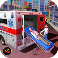 Ambulance Rescue Driving 2019-City Emergency Duty