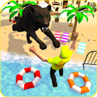 Angry Black Wild Panther Simulator 2019