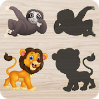 Animals Puzzle for Kids 🦁🐰🐬🐮🐶🐵