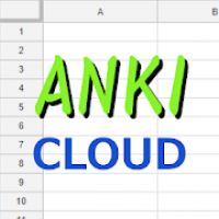 ANKI-LIST CLOUD