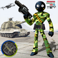 Army US Stickman Rope Hero Gangster OffRoad