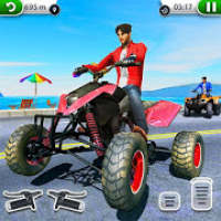 ATV City Traffic Racing Games 2019