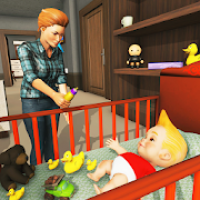 Babysitter & Mother simulator: Happy Family Games