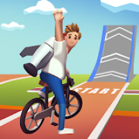 Bike Hop: Be a Crazy BMX Rider!