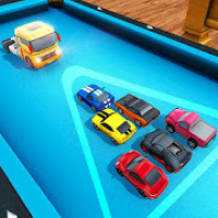 Billiard Car Pool Stunts