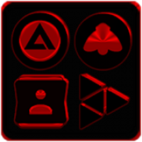 Black and Red Icon Pack ✨Free✨
