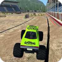 Blazing Monster Truck Racing