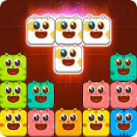 Block Crush™ - Cute Kitty Puzzle Game