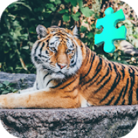 Brave Tiger Jigsaw Puzzle Game