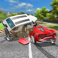 Car Crash Accident Simulator: Beam Damage