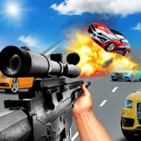 Car Racing Sniper Vs Thieves - Shooting Race games