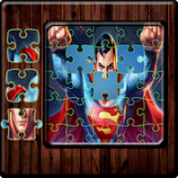 Cartoon hero Jigsaw Super puzzle games