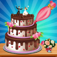 Chocolate Wedding Cake Factory: Fun Cooking Game