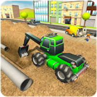 City Pipeline Construction Work : Plumber Game