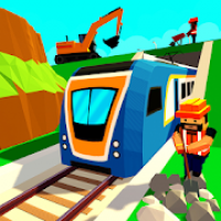 City Subway Build & Ride: Railway Craft Train Game