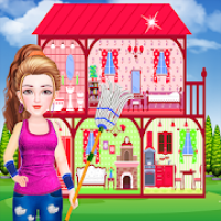 Doll House Cleaning Games for Girls – Dream House