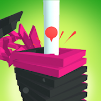 Drop Stack Tower Ball - Fall Smash 3D