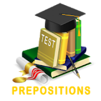 English Tests: Prepositions
