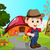 Farmer Escape From Forest House BestEscapeGame-336