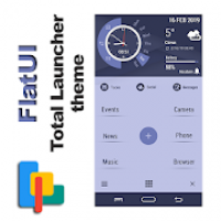 FlatUI Theme for Total Launcher