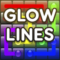 Glow Lines Free - Connect Game
