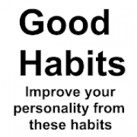 Good Habits: Habits of Successful people