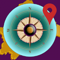 GPS Compass & Satellite Navigation With True North