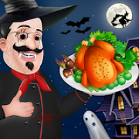 Halloween Star Food Chef - Crazy Restaurant Game