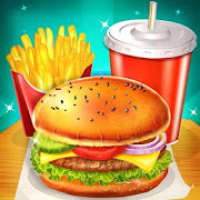 Happy Kids Meal Maker - Burger Cooking Game