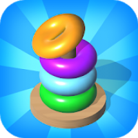 Hoops Color Sort - Color Stack Puzzle Free Games