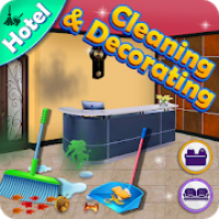 Hotel Cleaning & Decorating Game