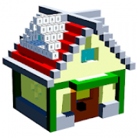House 3D Color by Number - Voxel Paint, Coloring