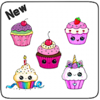 How to Draw Cute Cupcake