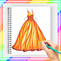 How to Draw Dress Gown 2020 Step by Step