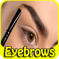 How to draw eyebrows shaping step by step tutorial