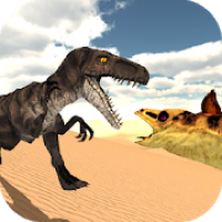 Hungry Raptor: Desert Dinosaur Hunt