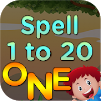 Kids 1 to 20 Numbers Spelling