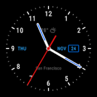 Live Wallpaper with Analog Clock 2018