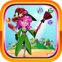 MAGIC WITCH - BUBBLE SHOOTER WITCH GAMES