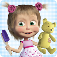 Masha and the Bear: House Cleaning Games for Girls